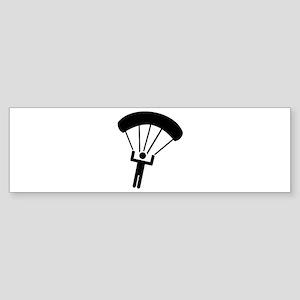 Skydiving icon Sticker (Bumper)