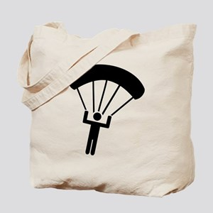 Skydiving icon Tote Bag