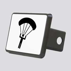 Skydiving icon Rectangular Hitch Cover