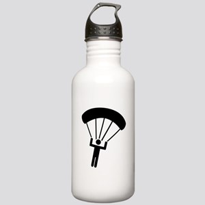 Skydiving icon Stainless Water Bottle 1.0L