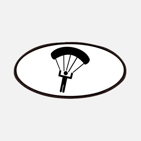 Skydiving icon Patches