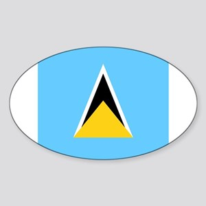 Flag of Saint Lucia Sticker