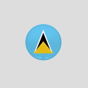 Flag of Saint Lucia Mini Button
