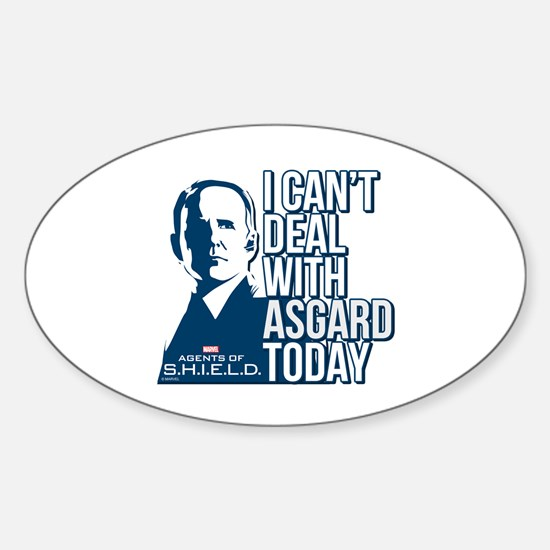 Can't Deal with Asgard Sticker (Oval)