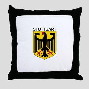 Stuttgart, Germany Throw Pillow