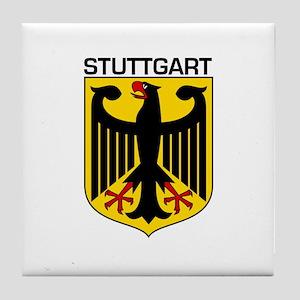 Stuttgart, Germany Tile Coaster