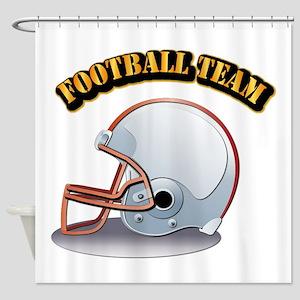 Football Team Shower Curtain