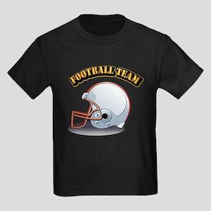 Football Team Kids Dark T-Shirt