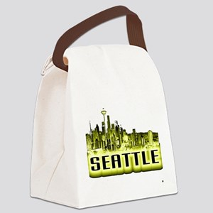 Seattle Canvas Lunch Bag