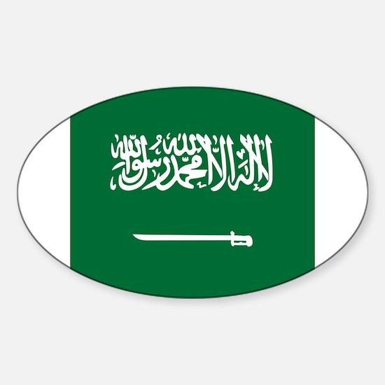 Flag of Saudi Arabia Decal