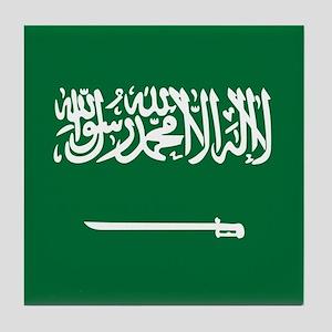 Flag of Saudi Arabia Tile Coaster