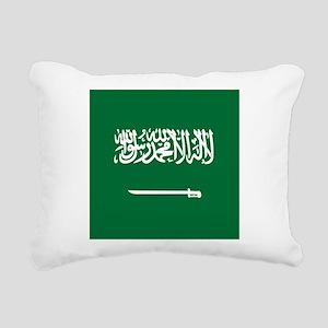 Flag of Saudi Arabia Rectangular Canvas Pillow