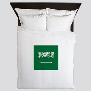 Flag of Saudi Arabia Queen Duvet
