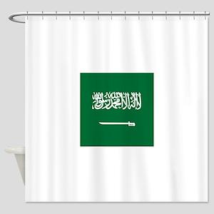 Flag of Saudi Arabia Shower Curtain