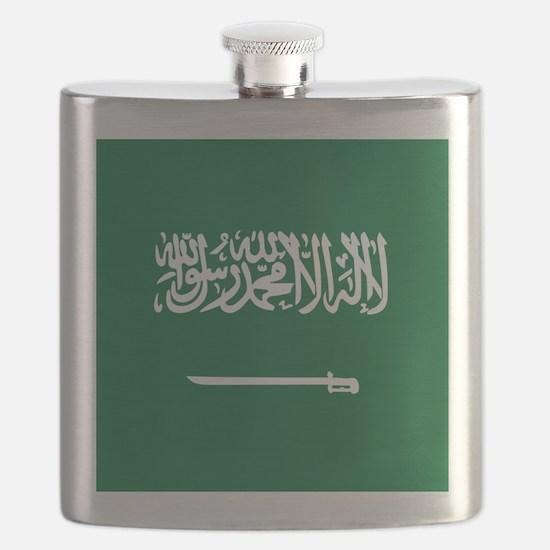 Flag of Saudi Arabia Flask