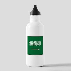 Flag of Saudi Arabia Sports Water Bottle