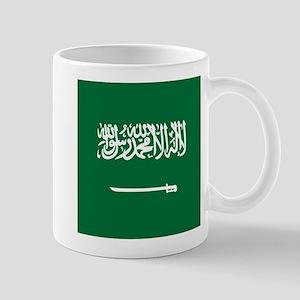 Flag of Saudi Arabia Mugs