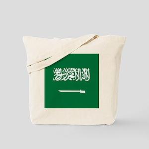 Flag of Saudi Arabia Tote Bag