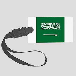 Flag of Saudi Arabia Large Luggage Tag