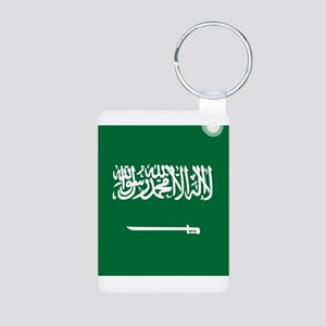 Flag of Saudi Arabia Keychains
