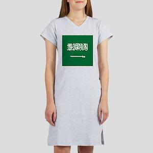 Flag of Saudi Arabia Women's Nightshirt