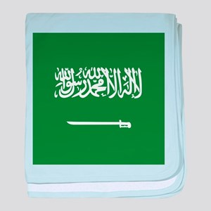 Flag of Saudi Arabia baby blanket