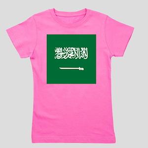 Flag of Saudi Arabia Girl's Tee