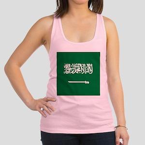 Flag of Saudi Arabia Racerback Tank Top