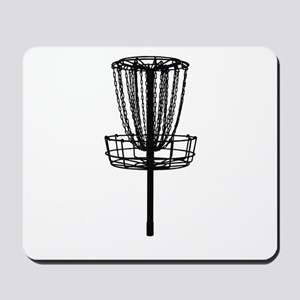Disc Golf Basket Mousepad