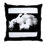 DarkLight FLower Throw Pillow