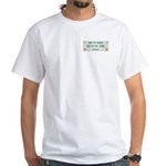Hugged Brittany White T-Shirt