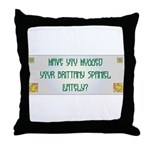 Hugged Brittany Throw Pillow