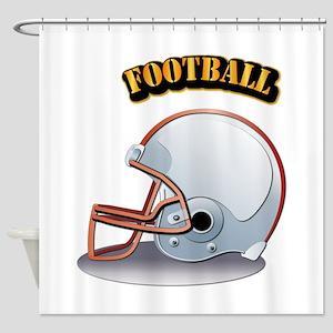Foothball Shower Curtain