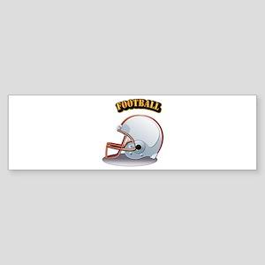 Foothball Sticker (Bumper)