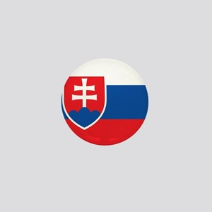 Flag of Slovakia Mini Button