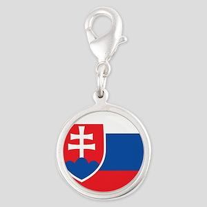 Flag of Slovakia Charms
