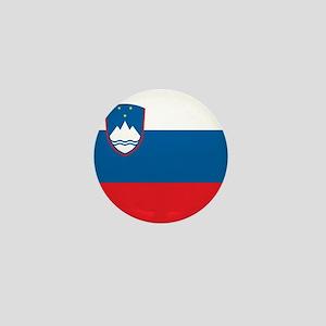 Flag of Slovenia Mini Button