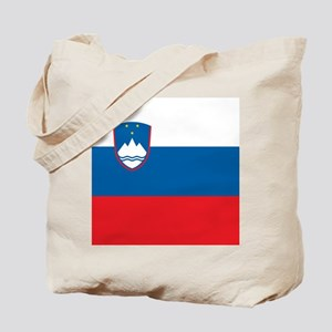 Flag of Slovenia Tote Bag