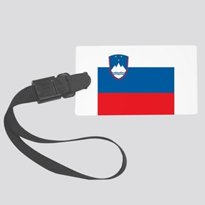 Flag of Slovenia Large Luggage Tag