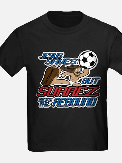Jesus Saves But Suarez Gets The Rebound T-Shirt