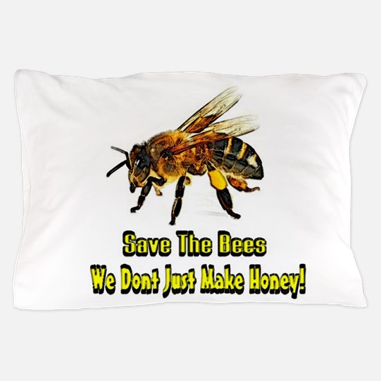 Save The Honey Bees Pillow Case