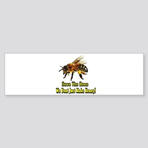 Save The Honey Bees Bumper Sticker