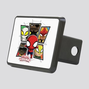 Itsy Bitsy Spiderman Rectangular Hitch Cover