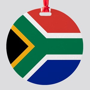 Flag of South Africa Round Ornament