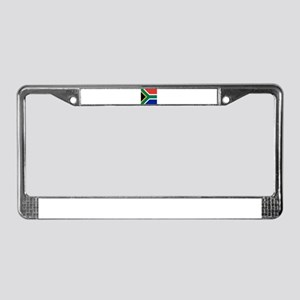 Flag of South Africa License Plate Frame