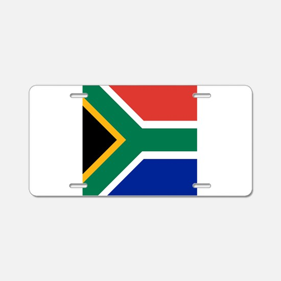 Flag of South Africa Aluminum License Plate