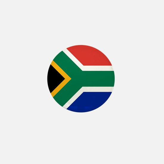 Flag of South Africa Mini Button