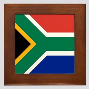 Flag of South Africa Framed Tile