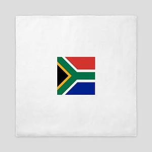 Flag of South Africa Queen Duvet