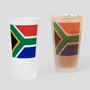 Flag of South Africa Drinking Glass